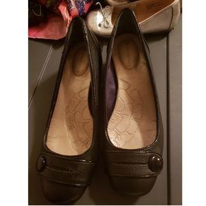 Womens Giani Bernini flats never worn black